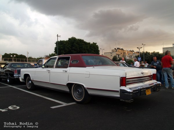 1977 White Lincoln Continental Town Car