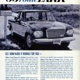 "The performance market wasn't the only one Studebaker was pursuing in 1963, as evidenced by this RHD ""Rural Route"" Lark. No R2 badge on its grille. More likely the 112 […]"