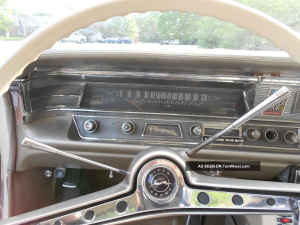 1963 Pontiac Dash with Chevy steering wheel