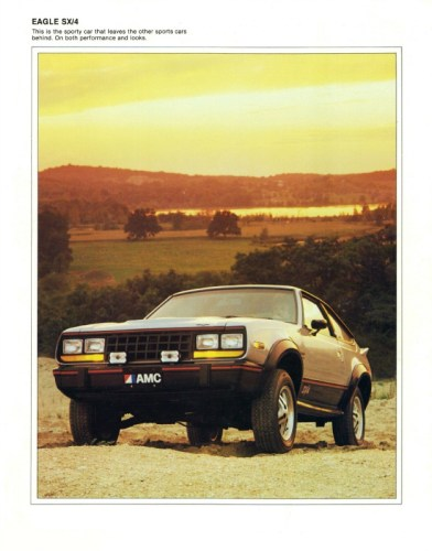 1981 AMC Eagle SX/4 brochure photo