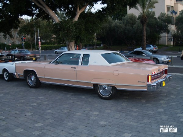 Pink Lincoln Continental Town Coupe