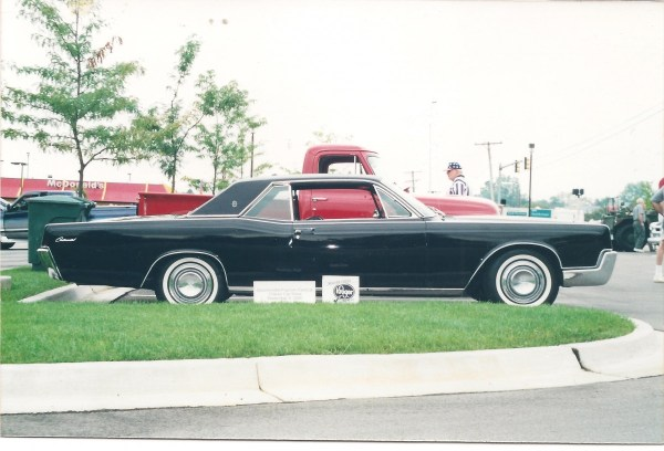 My 1967 Lincoln Coupe at a Local Car Show