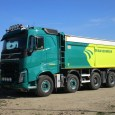 This Volvo dump truck stands out for two reasons: it has the sleeper cab of the big FH-series and at the rear, the Terberg company worked on the factory tandem […]