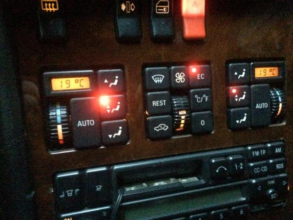 1991 600SEL Dual Zone Climate Control
