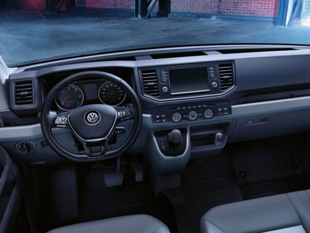 VW Crafter interior