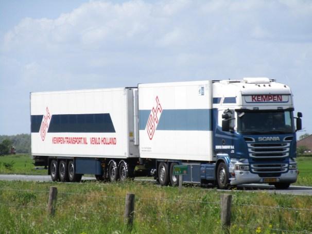 Scania R580 truck