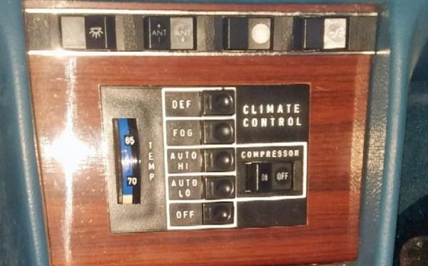 1976 Mercedes Benz Automatic Climate Control