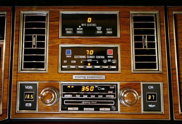 1980 Cadillac Eldorado Dashboard