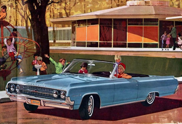 1964 Oldsmobile Jetstar 88 convertible brochure