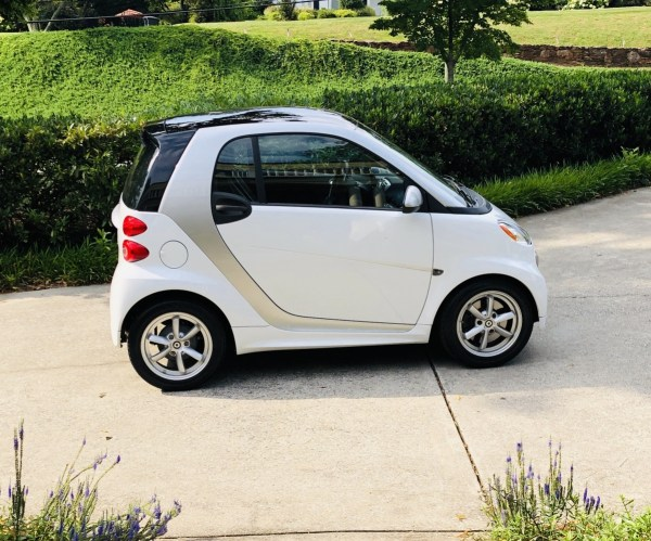 a 2015 smart fortwo