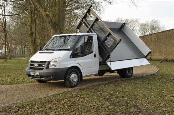 Ford Transit Mk7 dump truck