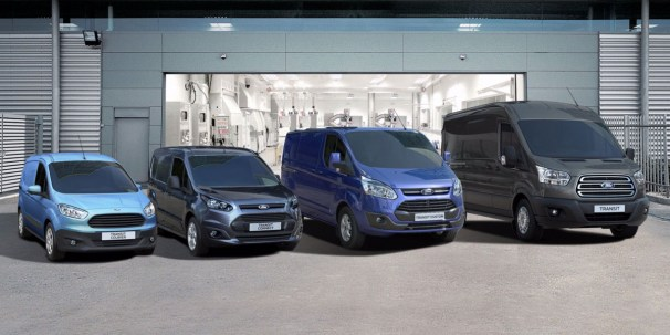 Ford Transit full range