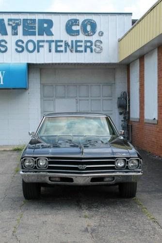 1969 Chevrolet Chevelle SS396 in Flint, Michigan.
