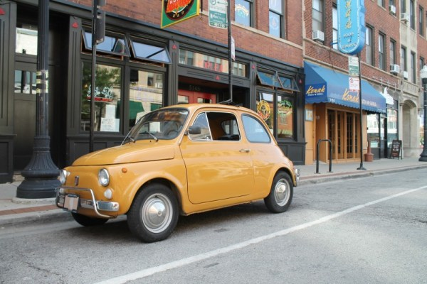 c. 1967 FIAT 500L. Andersonville, Chicago, Illinois. Monday, September 7, 2020.
