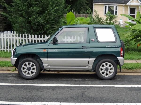 1995 Mitsubishi Pajero Mini VR-II left side