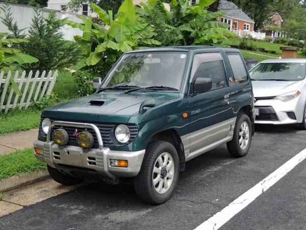 1995 Mitsubishi Pajero Mini VR-II left front
