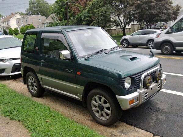 1995 Mitsubishi Pajero Mini VR-II right front