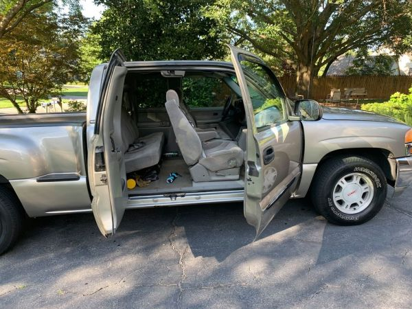 2000 GMC SIERRA 3 DOOR PICKUP