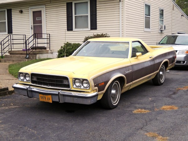 1973 Ford Ranchero Squire Left Front