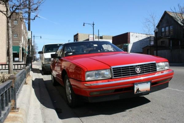 c. 1990 Cadillac Allante. Rogers Park. March 2011.