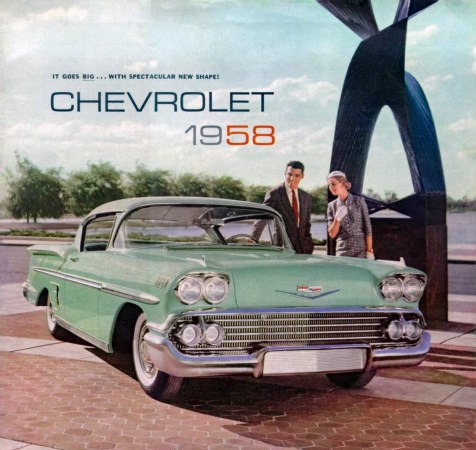 1958 Chevrolet brochure cover