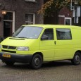 This double cab panel van wears reflective safety clothing, no trouble whatsoever finding it back in a big parking lot. It says TDI on the grille and hatch, the blue […]
