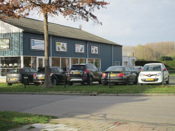 Tractor dealership parking lot - 1