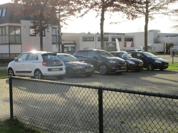 Tractor dealership parking lot - 2