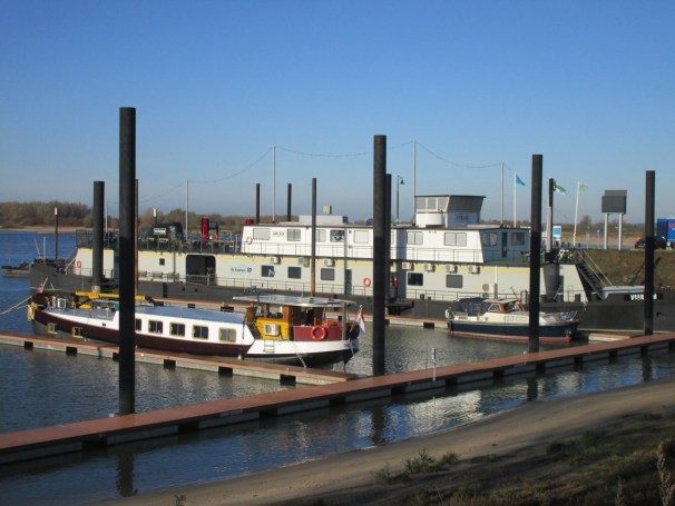 Ferry terminal - boats