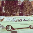 That's my husband's mother driving in Toronto in 1961.