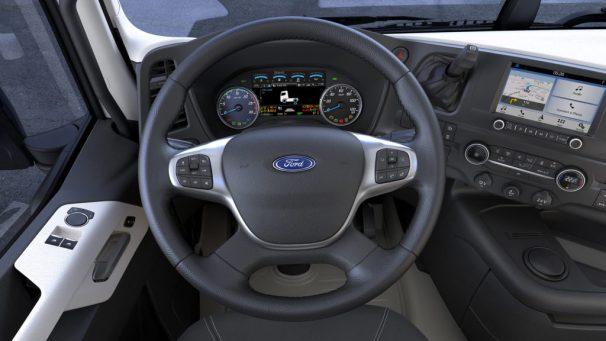 Ford F-Max dash