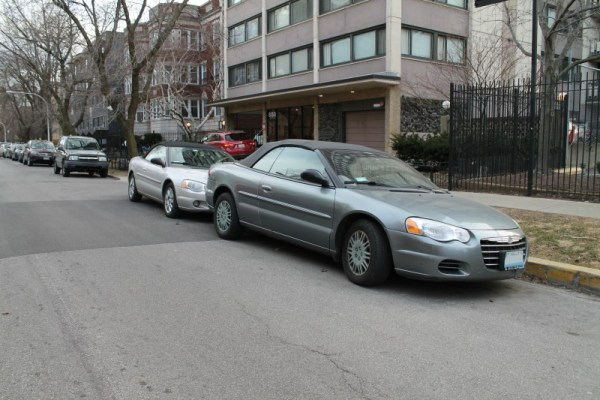 2006 & 2004 Chrysler Sebring convertible.