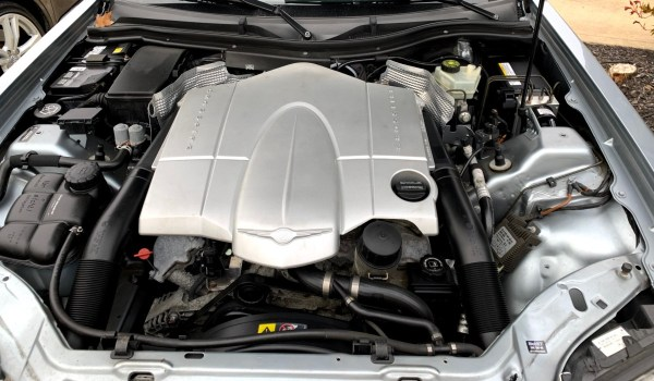 2005 Chrysler Crossfire Engine Compartment
