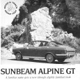 There was a third review in the same issue of Road & Track along with the Grand Prix and Espada, the new Sunbeam Alpine GT. I'm obviously being a bit […]
