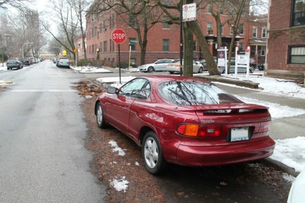 1990 Toyota Celica GT-S. Edgewater Glen, Chicago, Illinois. Saturday, January 2, 2021.