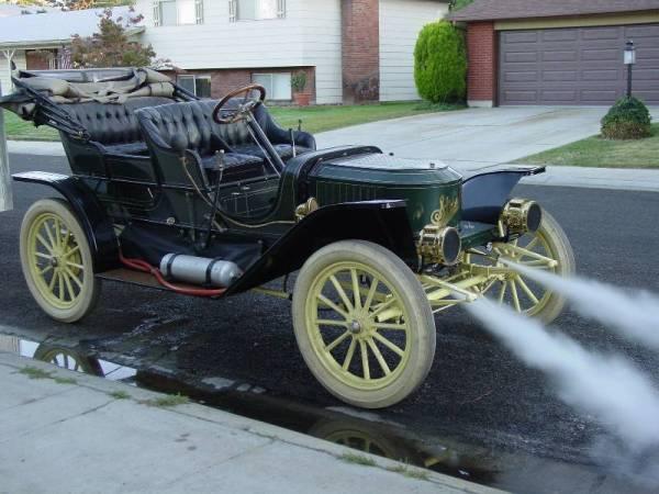 1910 Stanley Steam Car