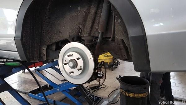 Honda Civic Tourer rear brake disk