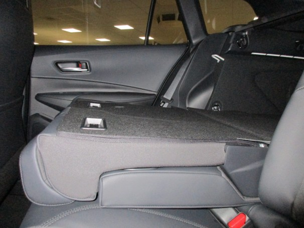 Corolla TS rear seat