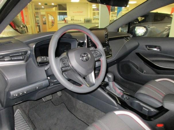 Corolla GR-Sport interior-dash