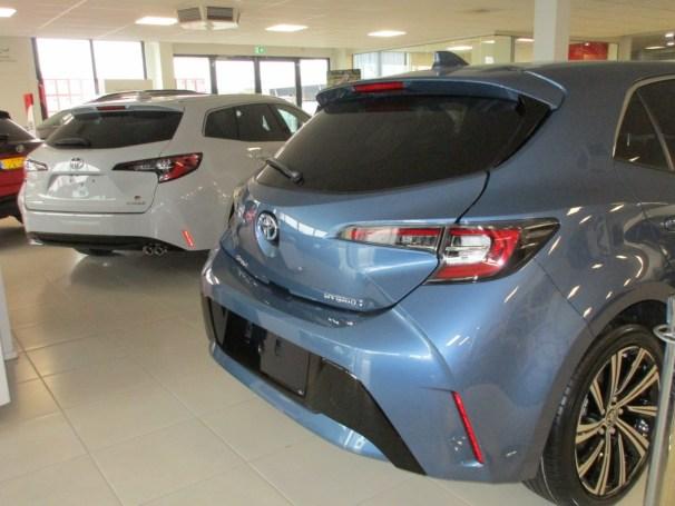 Corolla hatchback vs TS