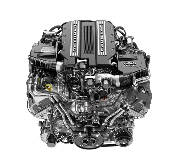 2019 Cadillac Blackwing V8 Engine