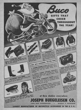 1952 Buco ad Joseph Beugeleisen Co.