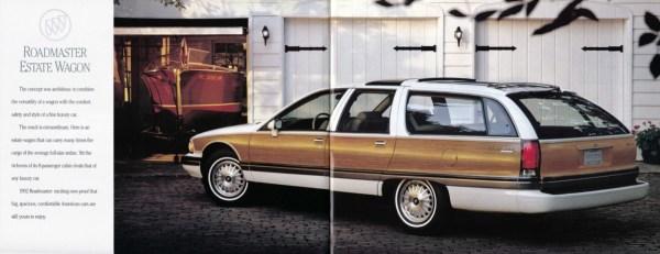 1992 Buick Roadmaster Estate Wagon brochure