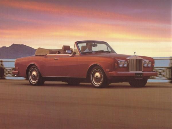 1994 Rolls-Royce Corniche IV brochure