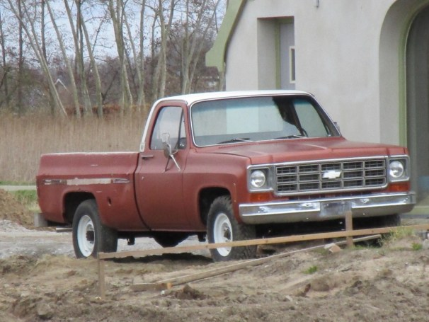 Chevy pickup - 2