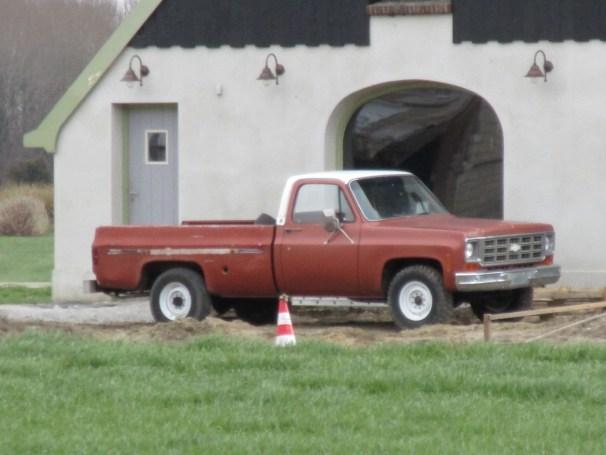 Chevy pickup - 3