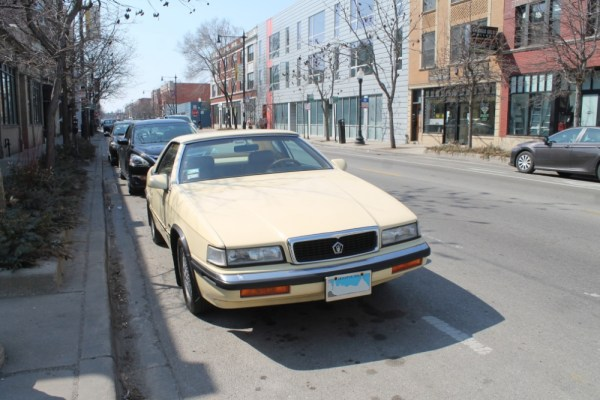 1989 Chrysler's TC By Maserati. Edgewater, Chicago, Illinois. Saturday, April 3, 2021.