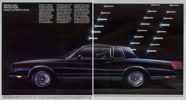 1984 Chevrolet Monte Carlo brochure photo 2