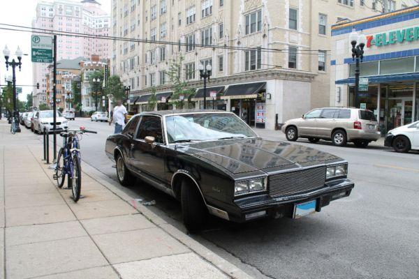 1984 Chevrolet Monte Carlo. 8/06/2017.