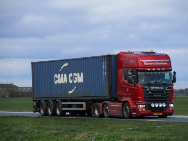 2014 Scania R 580 tractor